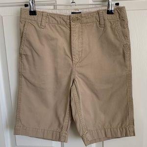 Gap Kids Boys Chino Shorts - Khaki - Size 12
